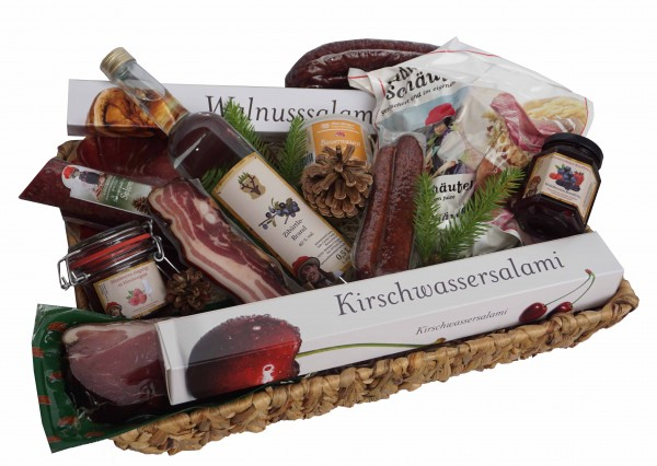 Culinary greeting from the Black Forest