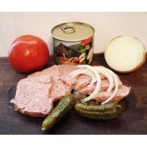 Hausmacher Bauernwurst, 185 g Dose