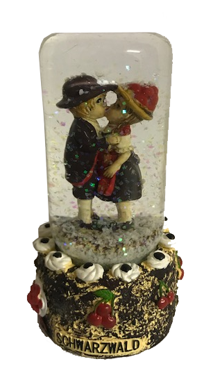Snow column Black Forest with Black Forest pair