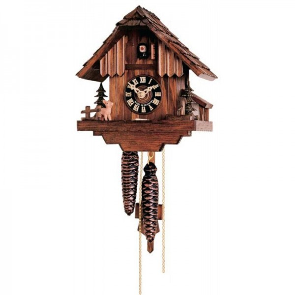Cuckoo clock with deer 1 day