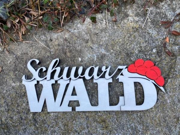 Schwarzwald Schriftzug