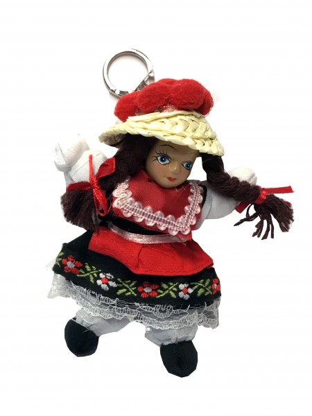 Black Forest doll keychain