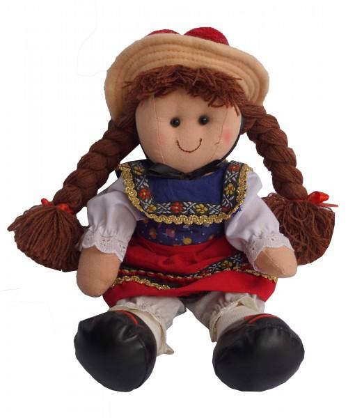 Gutacher woman, cuddly doll
