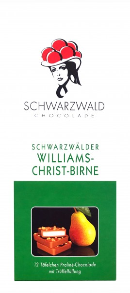 Black Forest Williams Christ-Pear Chocolade