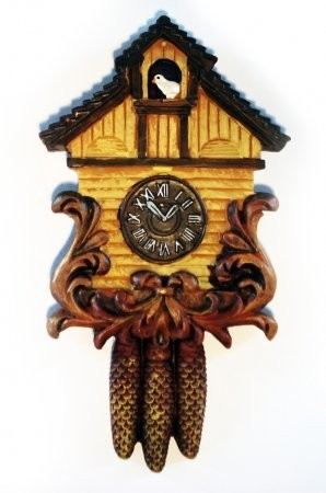 Magnet: Black Forest Clock bright