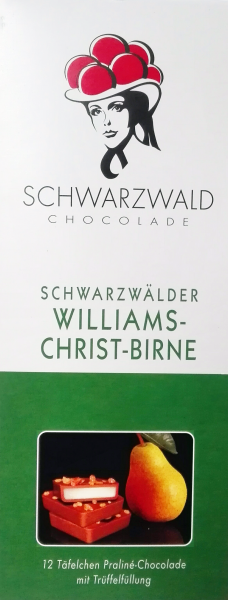 Schwarzwälder Williams Christ-Birne Chocolade