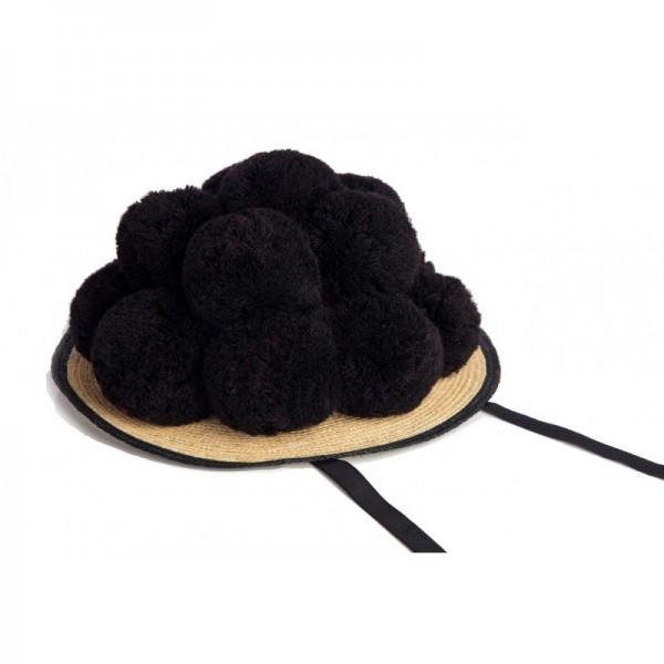 Bollenhut schwarz