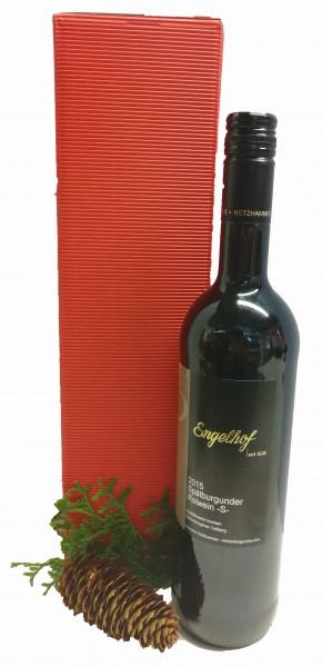 Engelhof Rotwein im Geschenkkarton