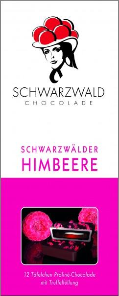 Schwarzwälder Himbeere Schokolade