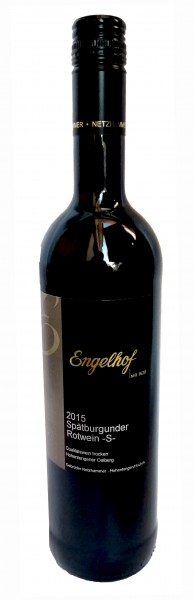 Engelhof 2015 Spätburgunder Rotwein -S-