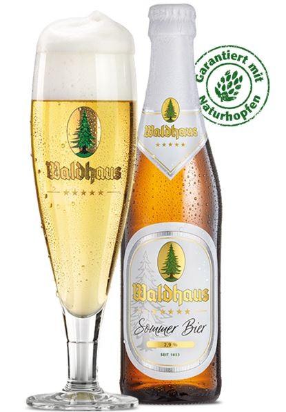 Waldhaus Sommer Bier, 0,33l, 24 Stück