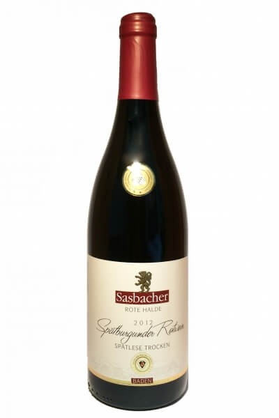 Sasbacher red heap Pinot Noir dry, 2016
