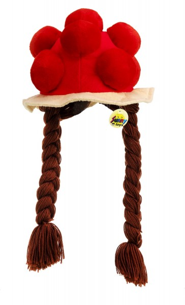 Bollenhut beanie with pigtails