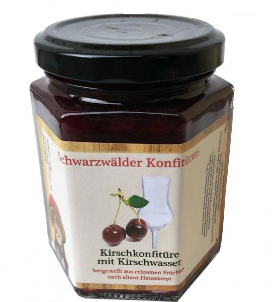 Cherry jam with Kirschwasser, 225 gr.