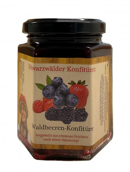Waldbeeren-Konfitüre, 225gr.