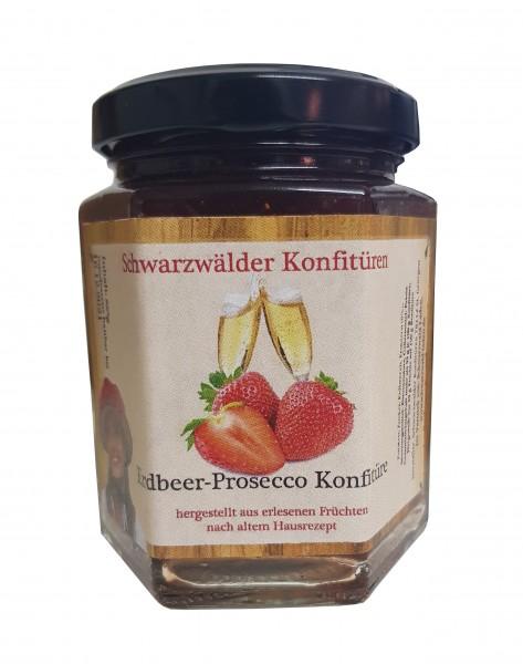 Erdbeer-Prosecco Konfitüre, 225gr.