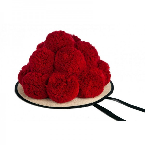 Black Forest Bollenhut red