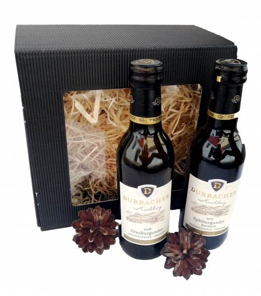 Threesome set of classic Black Forest Brandy