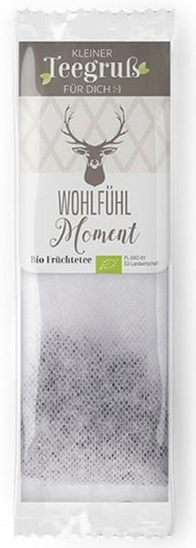 "Teegruß mit Hirschkopf - ""Wohlfühl Moment"""