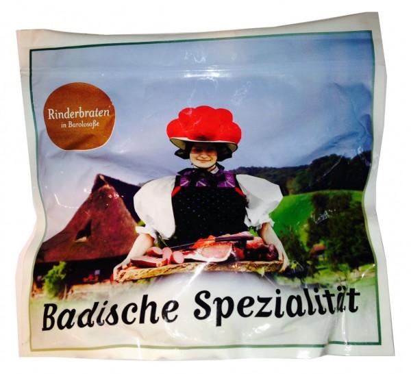 Rinderbraten in Barolosoße im Kochbeutel