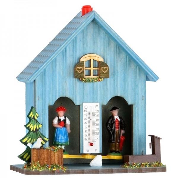 Wetterhaus blau
