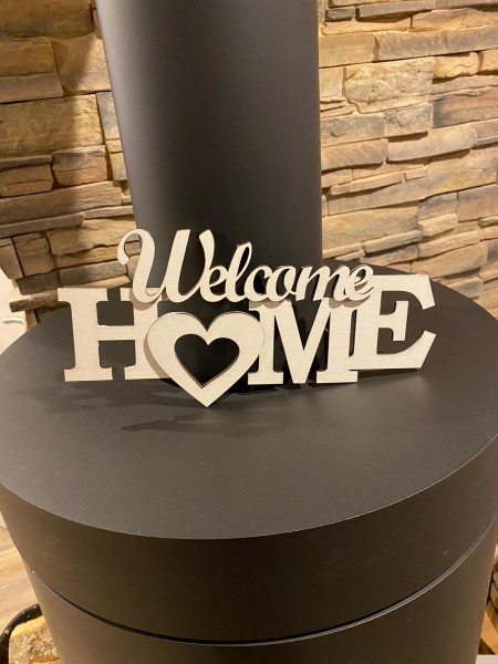 Schriftzug Welcome Home