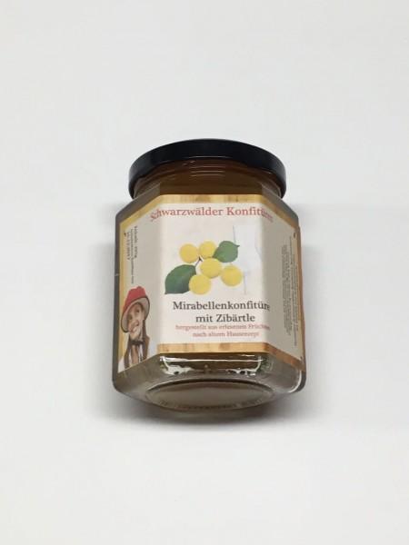Mirabellen-Konfitüre mit Zibärtle