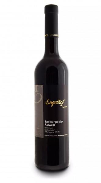 Engelhof 2018er Spätburgunder Rotwein halbtrocken