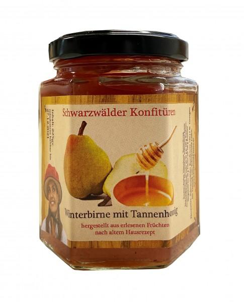 Winterbirne mit Tannenhonig, 225gr.